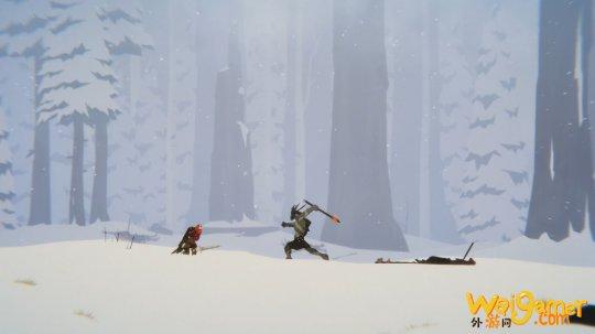 手绘风冒险游戏《Unto The End》12月9发售 登陆PC PS4 XB1