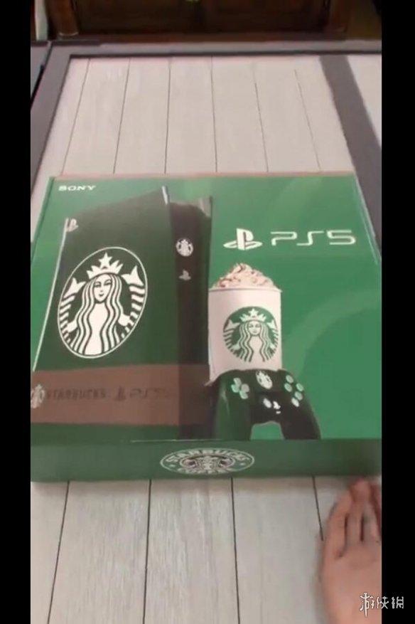 """惊呆了!网上传出""""星巴克版PS5主机""""视频 还能调咖啡"""